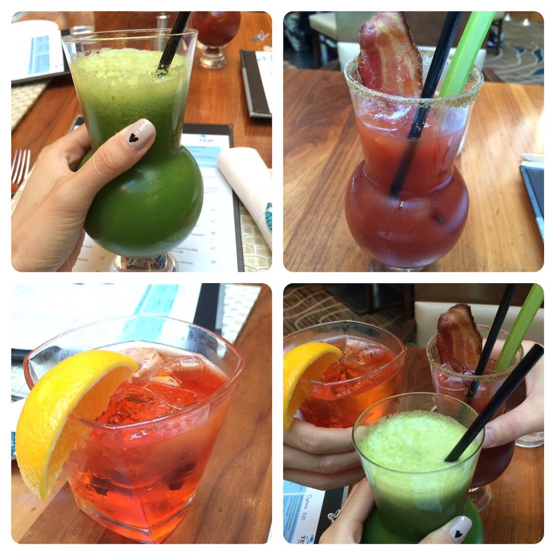 YEW Four Seasons Brunch Drink