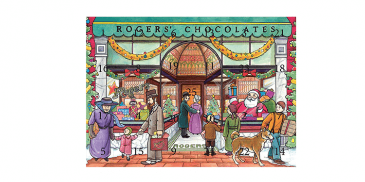 Rogers' Heritage Store Chocolate Advent Calendar