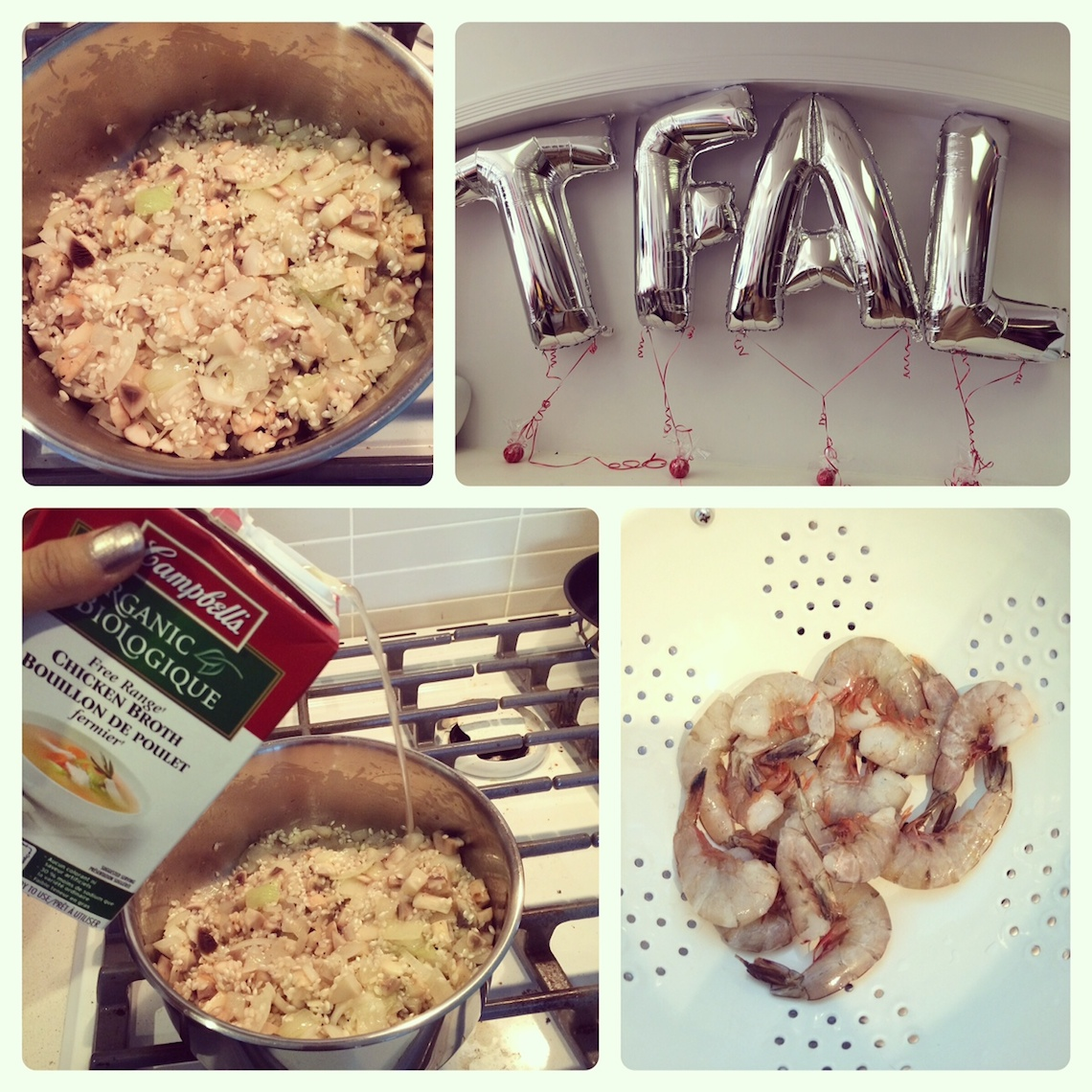 tfal click to cook ingenio collection dinner party collage 2