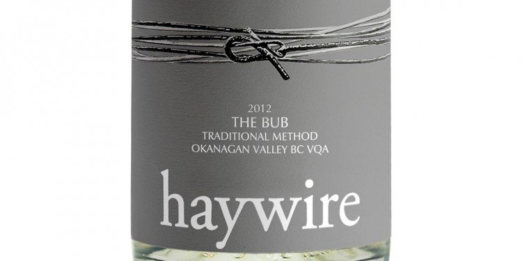Haywire Winery- The Bub 2012 ($25.00)