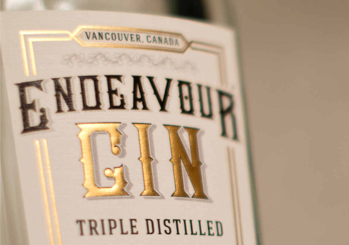 Endeavour Gin Liberty Distillery