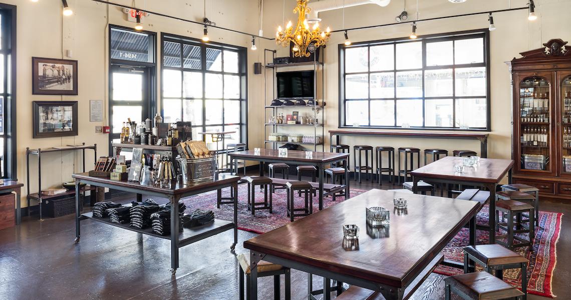 Liberty Distillery Lounge
