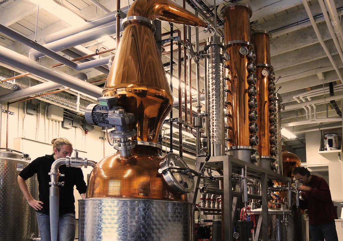 Liberty distilling_process