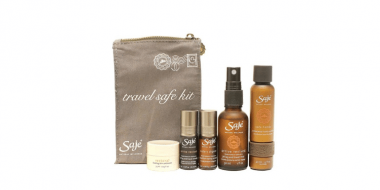 Travel Safe Kit from Saje