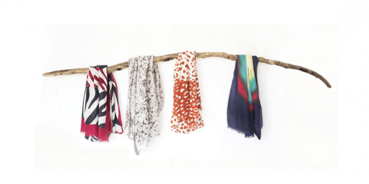 Handmade Cashmere Scarf from Nepal by Casana Designs