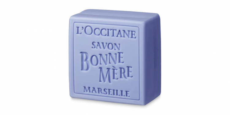 Traditional Marseille Lavendar Soap from L'Occitane
