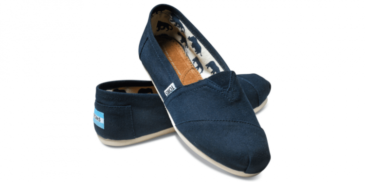 A Pair of Travel-Friendly Shoes from TOMS