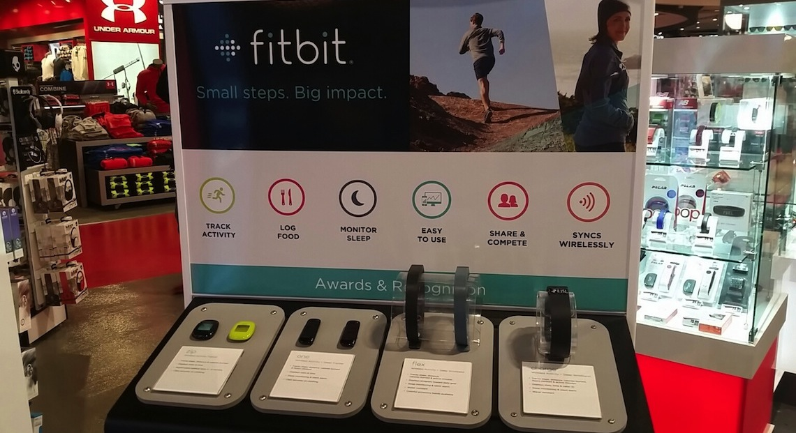 Sportchek Metropolis Fitbit
