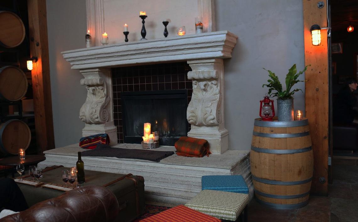 belgard kitchen fireplace