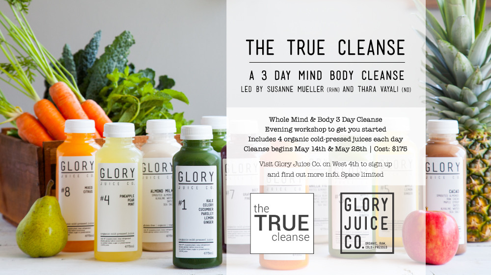 glory juice co cleanse