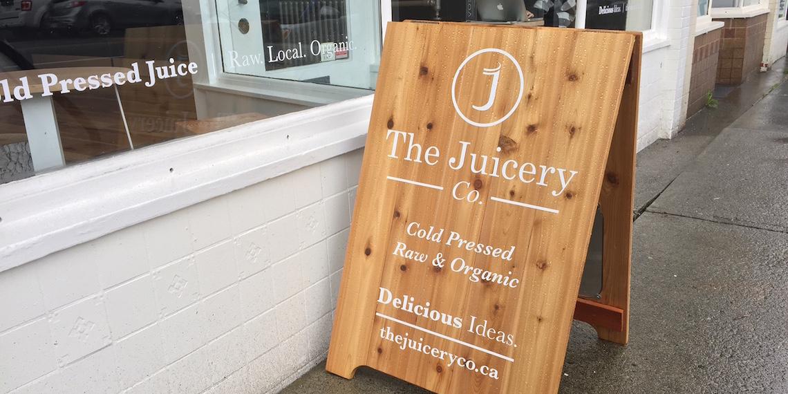 the juicery co kitsilano sign 2