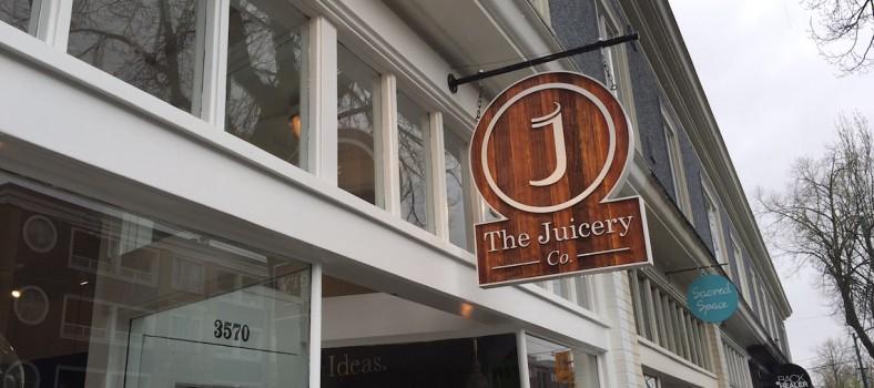 the juicery co kitsilano sign