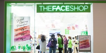 thefaceshop pacific centre