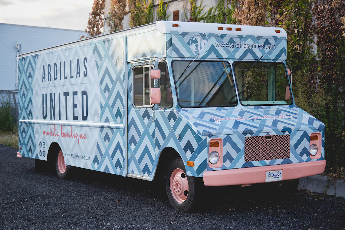 Ardillas United Mobile Shopping Boutique Vancouver