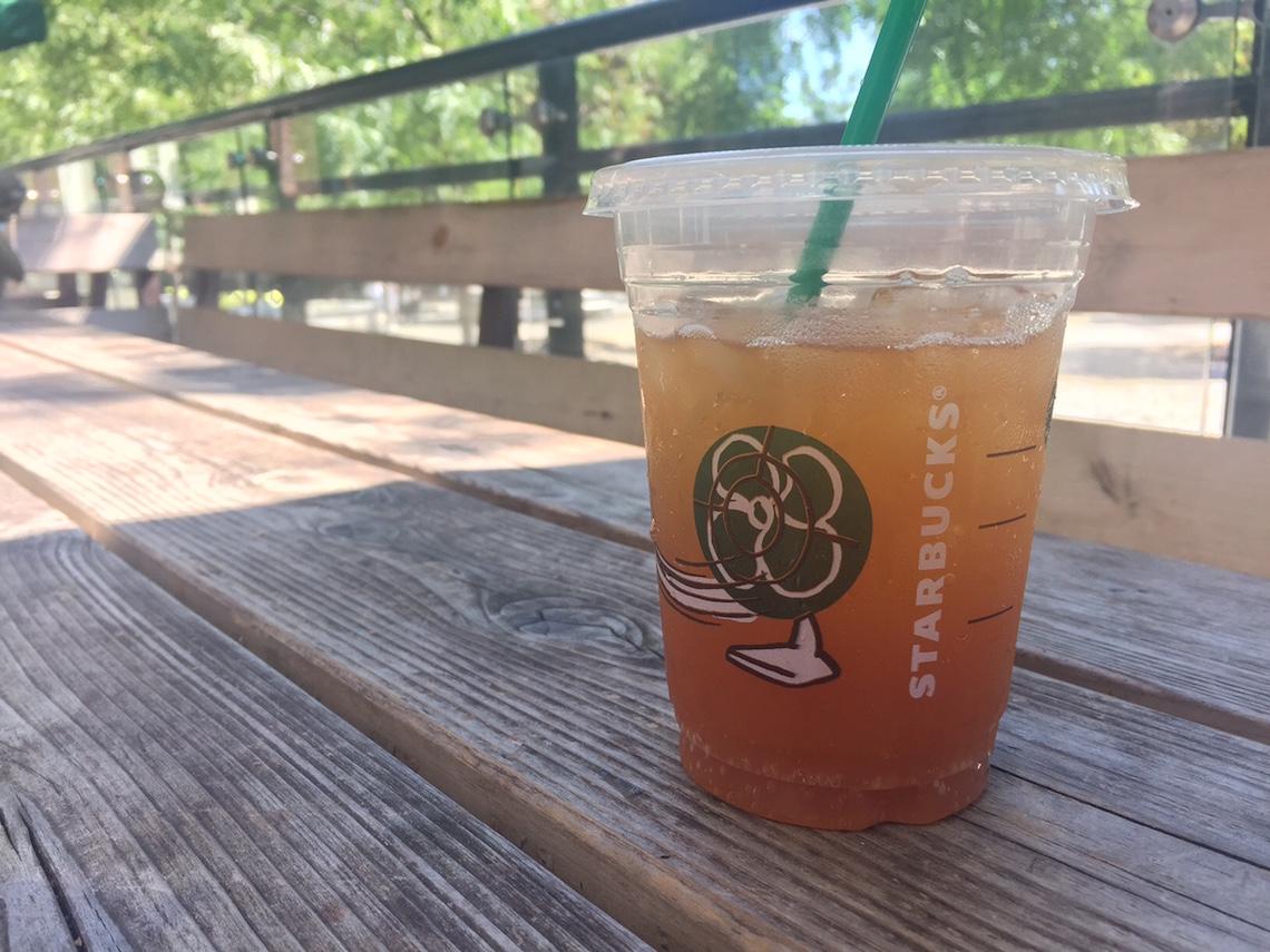 Starbucks Teavana Sparkling Tea Juice Black Tea Tangerine