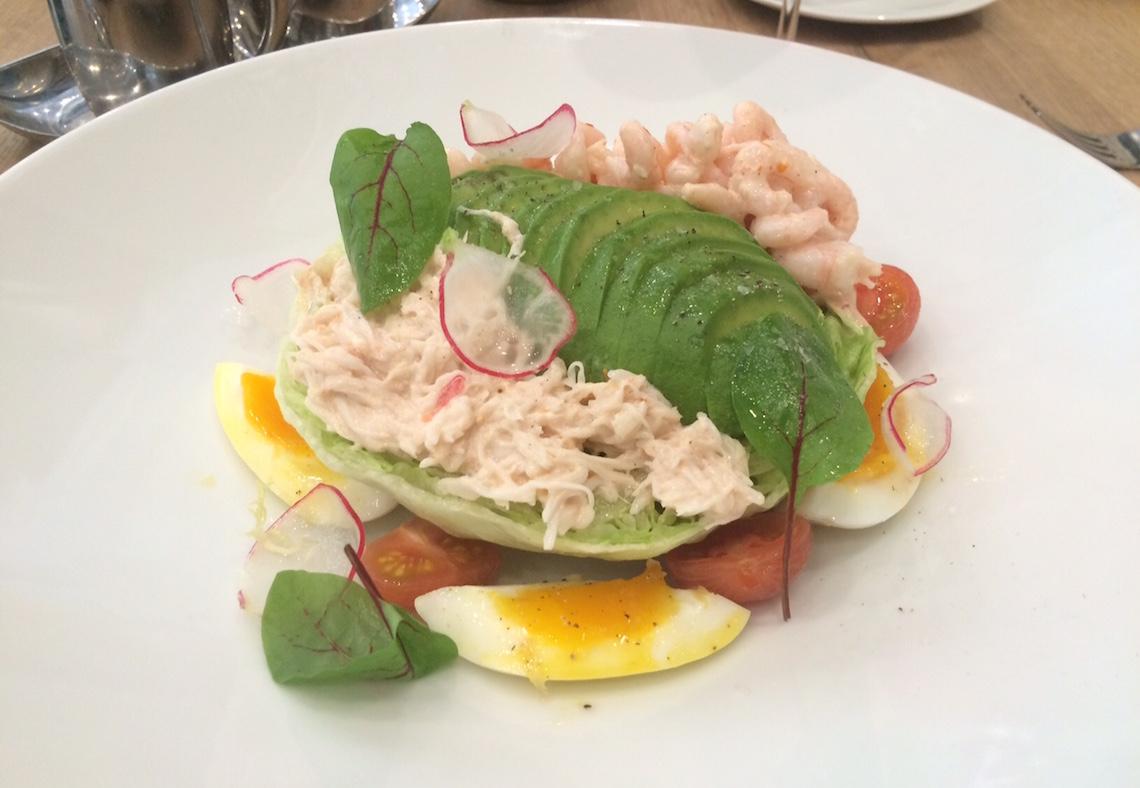 boulevard oyster brunch louie salad