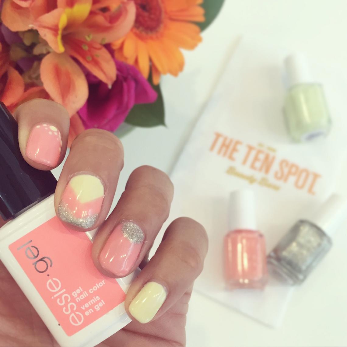 the ten spot yaletown gel manicure