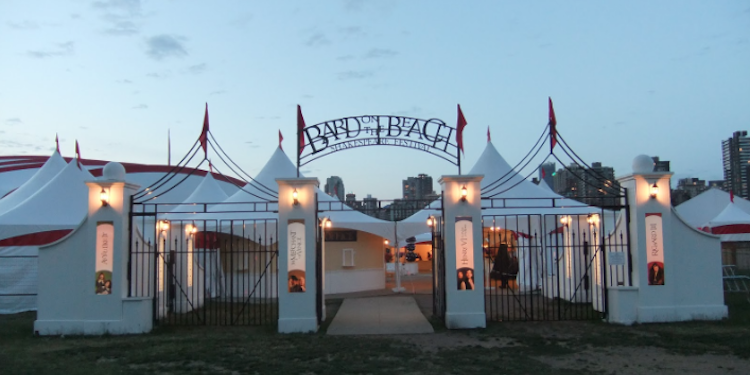 Bard on the Beach Entrance