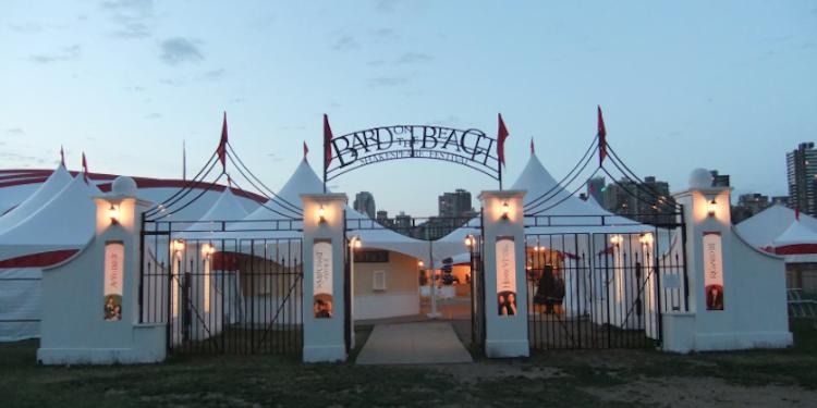 Bard on the Beach Entrance