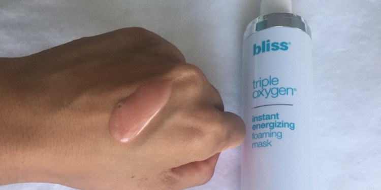 bliss triple oxygen before and after