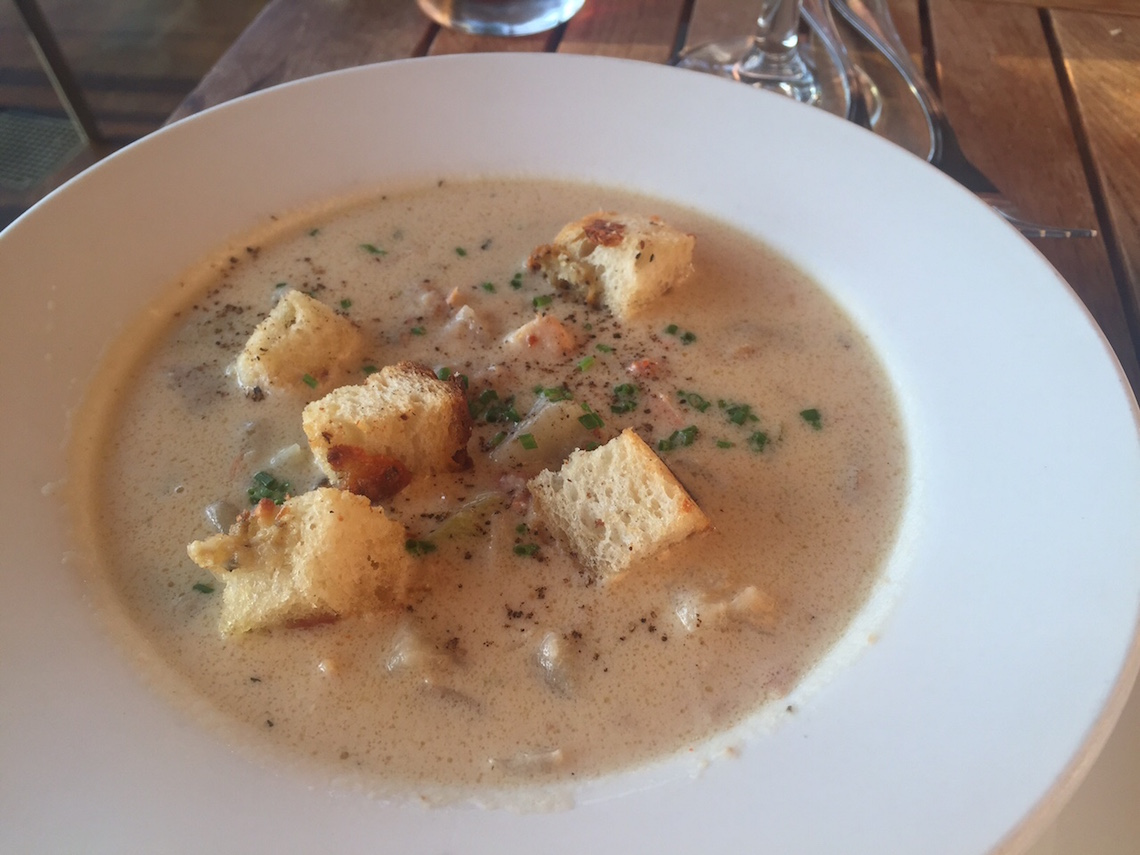 boathouse kitsilano seafood chowder