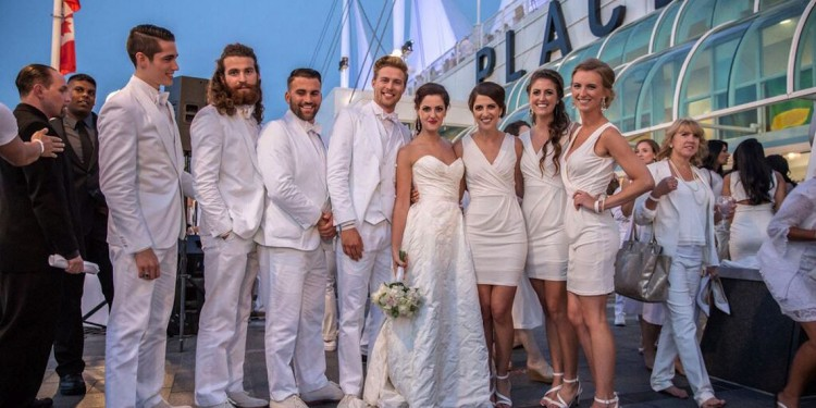 Abbotsford Couple Rachel Steinebach and Sam Merrell Get Married at Diner en Blanc