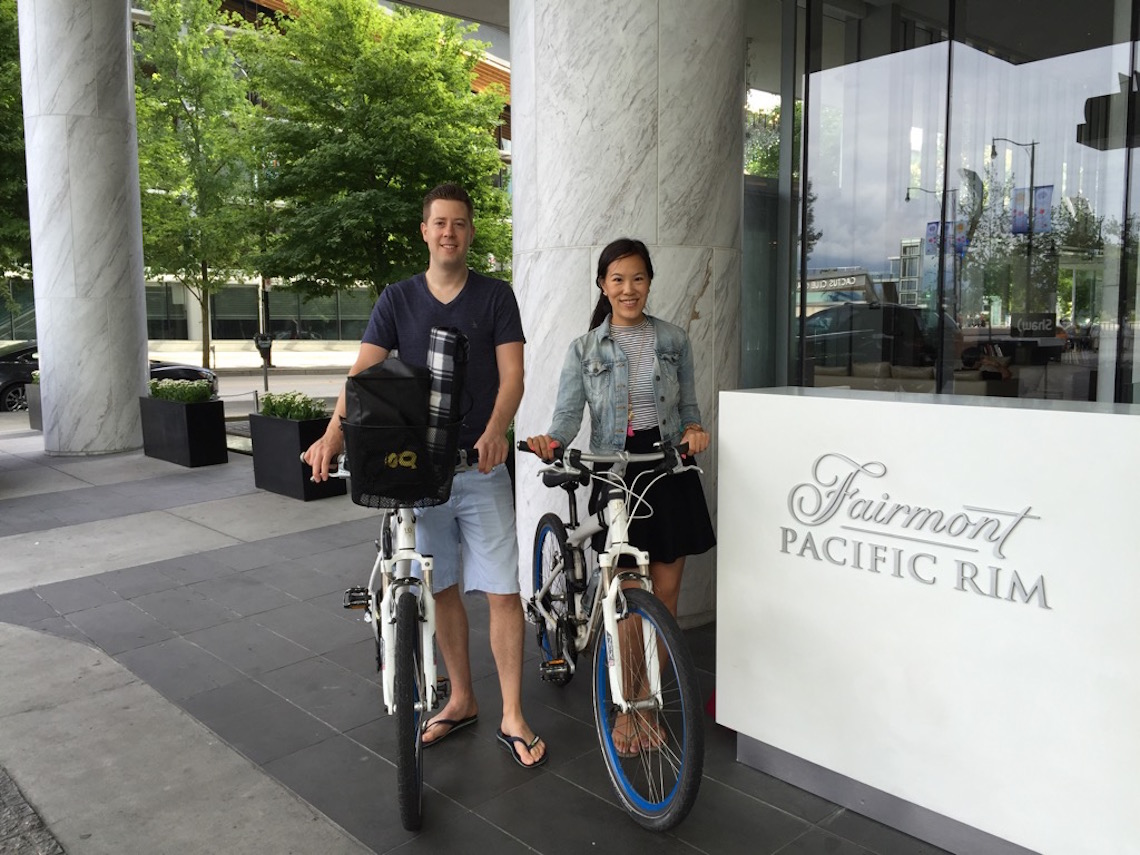 BMW Bike Rentals from Fairmont Pacific Rims
