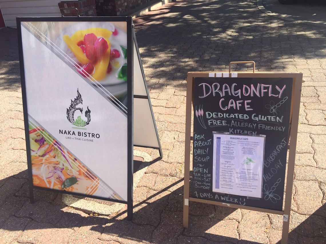 Naka Bistro and Dragonfly Cafe Were Both Participating Restaurants in the Fork to Finger Downtown Langley Event