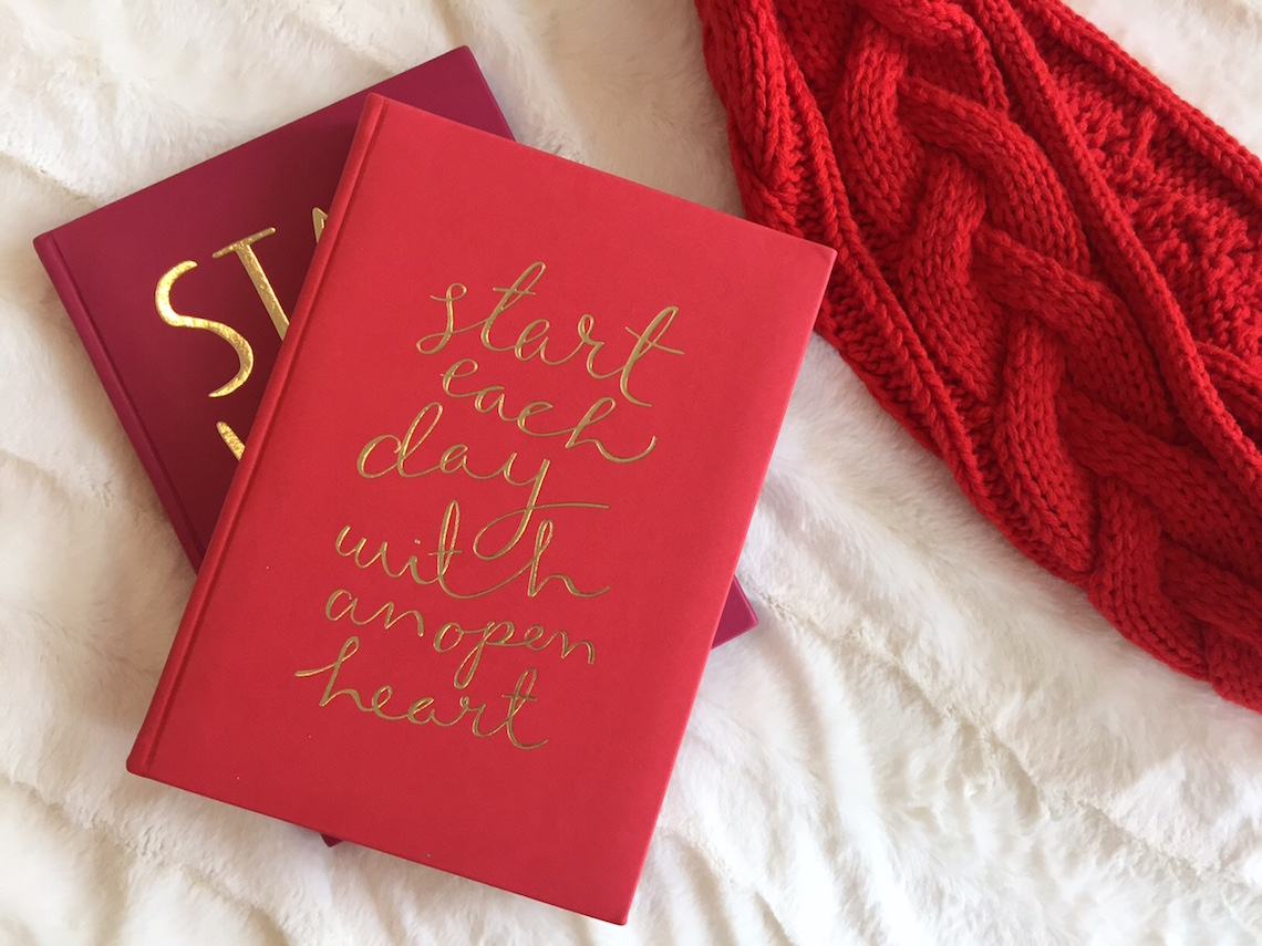 indigo holiday 2015 hardcover notebooks Embossed Journal ($24)