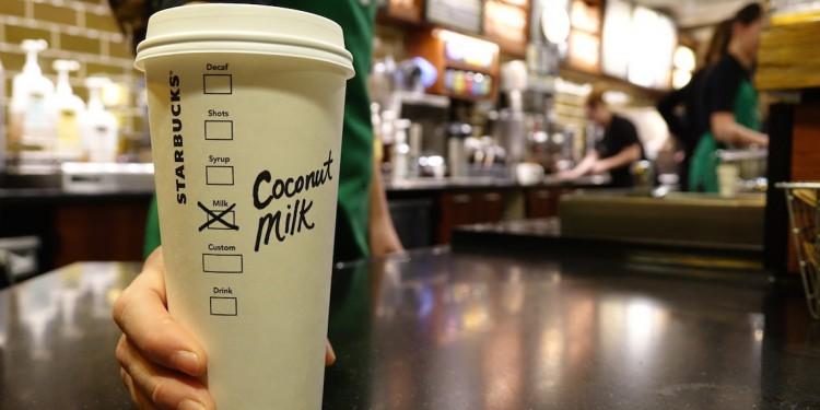 Starbucks Canada Coconut Milk