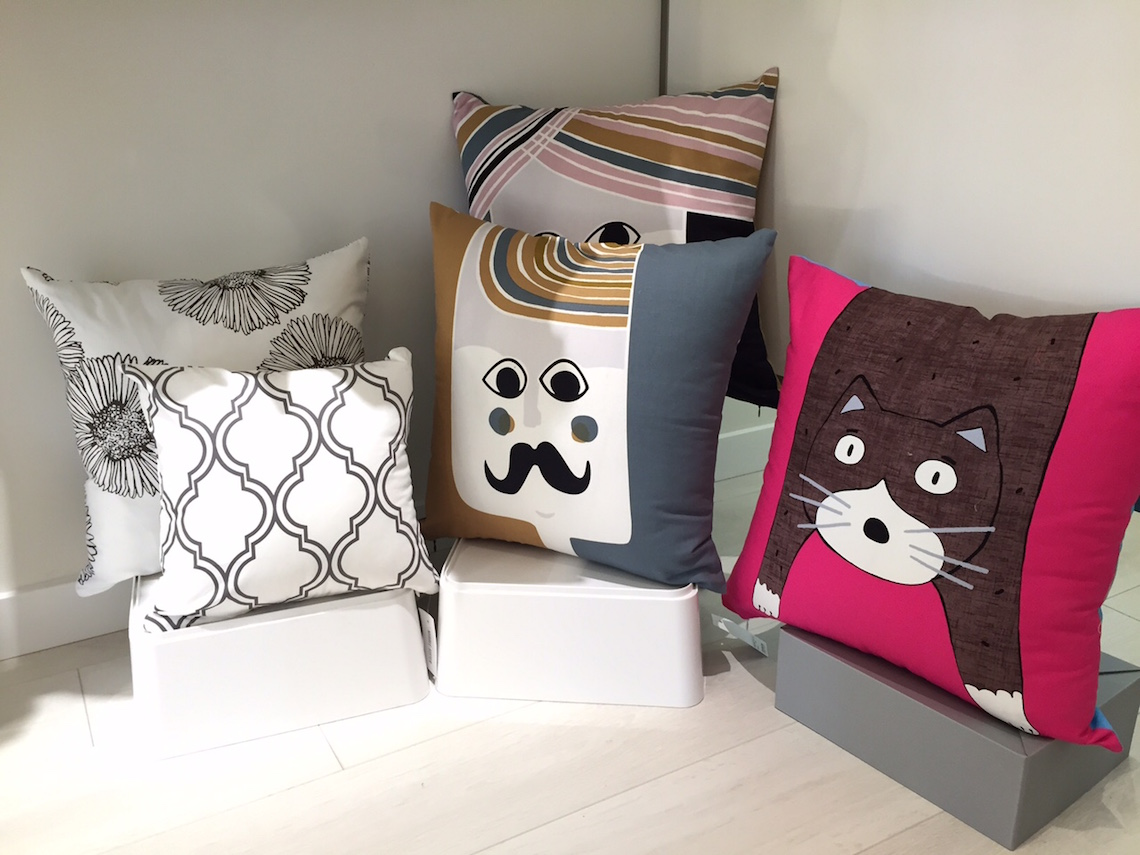 Home Cushions with Textiles and Designs from Korea