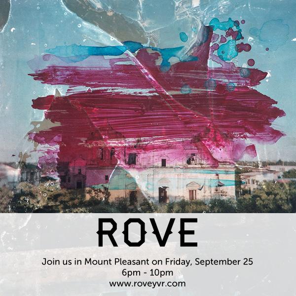 ROVE Art Walk in Mount Pleasant September 25
