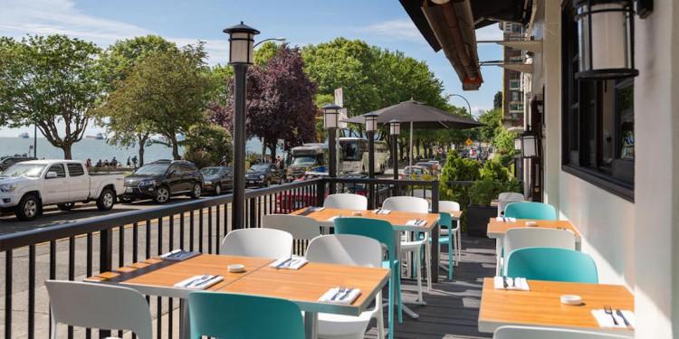 Beach Bay Cafe and Patio at English Bay