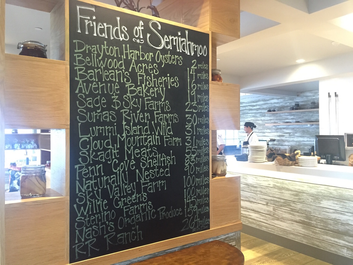 Preferred Suppliers at Semiahmoo Resort's Pierside Kitchen
