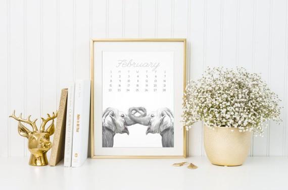 Triple Studio Calendar Art