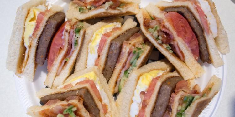 Strike: Club house sandwich