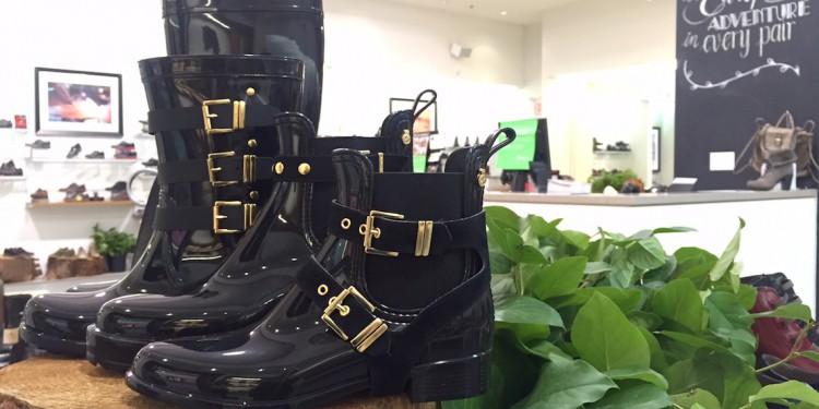 Fall Footwear Trend #1: Sleek Rainboots