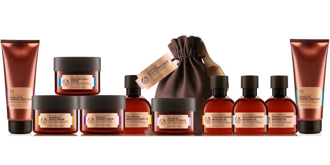 body shop spa of the world collection