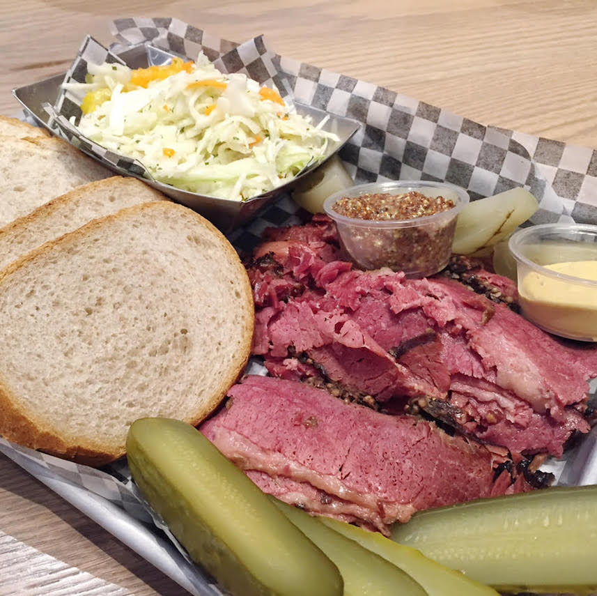 Dunns Montreal Smoked Meat Platter