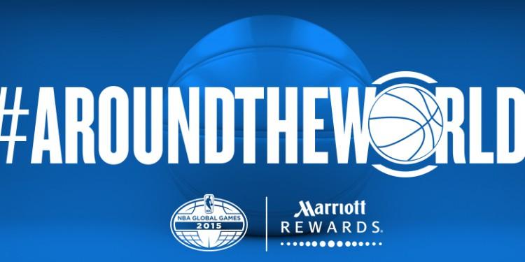 marriott rewards NBA global games