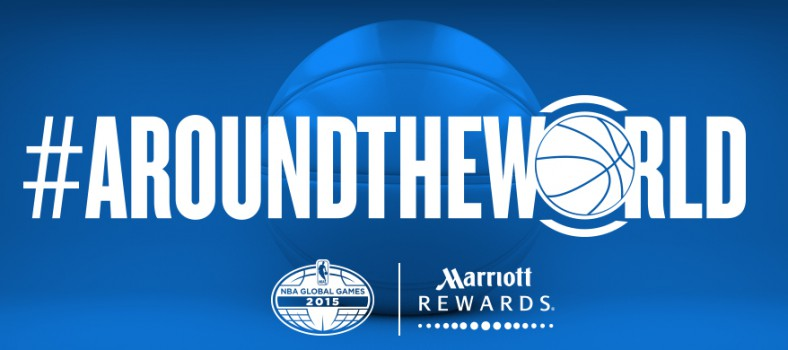 marriott rewards NBA global games