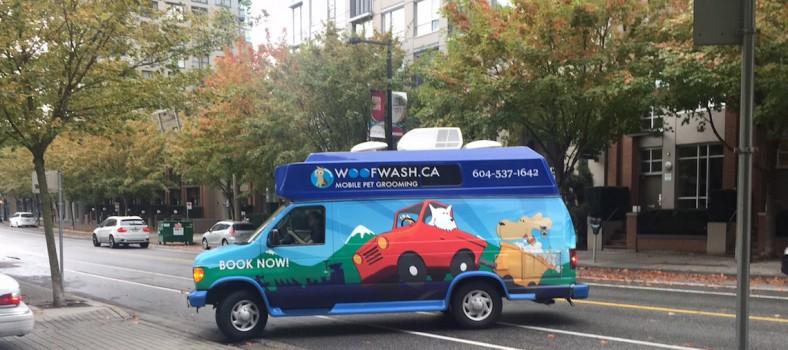 woof wash mobile pet grooming