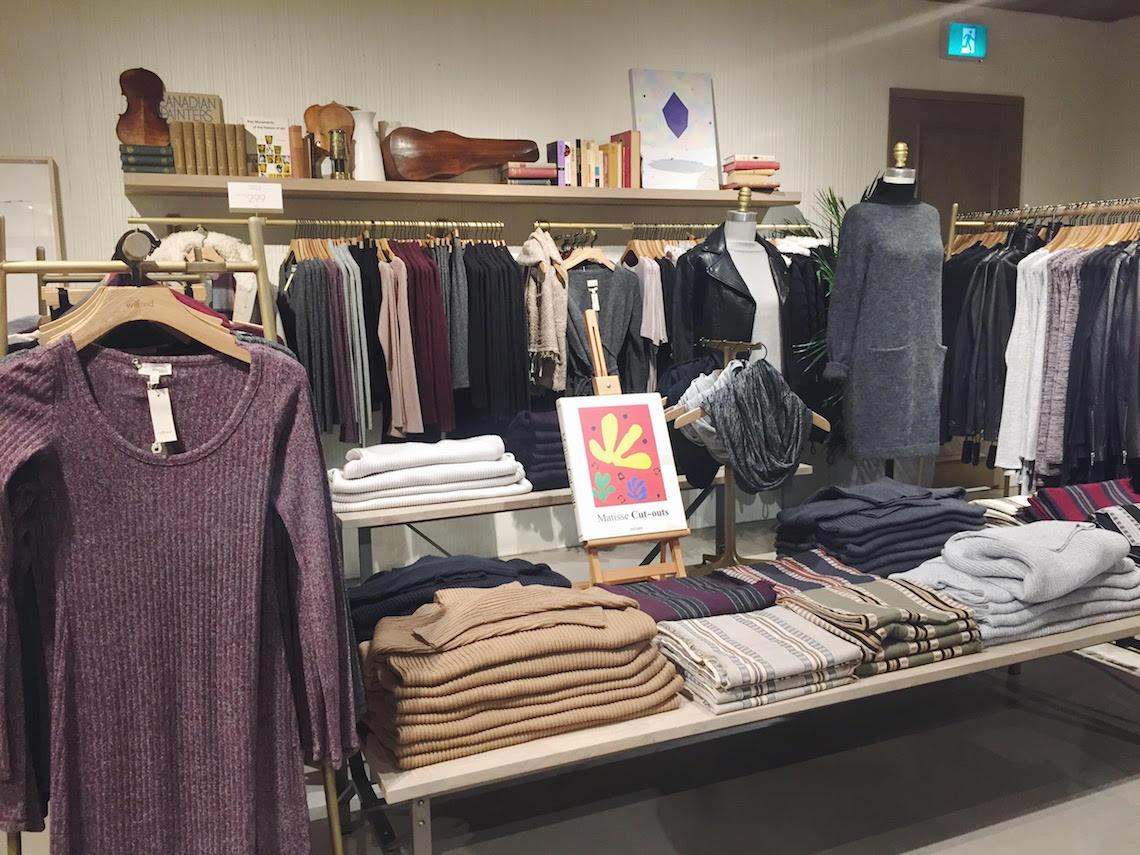 Aritzia Wilfred Store Vancouver Pacific Centre