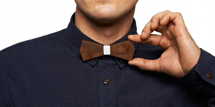 Bo Handcrafted Wooden Bow Tie