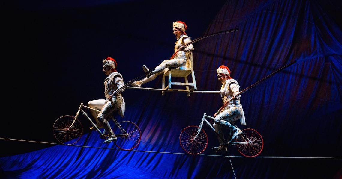 Cirque du Soleil Kooza High Wire