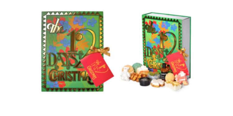 LUSH Cosmetics' 12 Days of Christmas