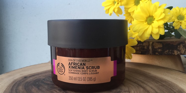 The Body Shop: Spa of the World African Ximenia Scrub