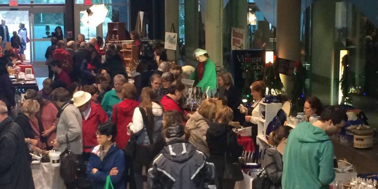 Coquitlam Christmas Farmers Market at Poirier Sport & Leisure Complex