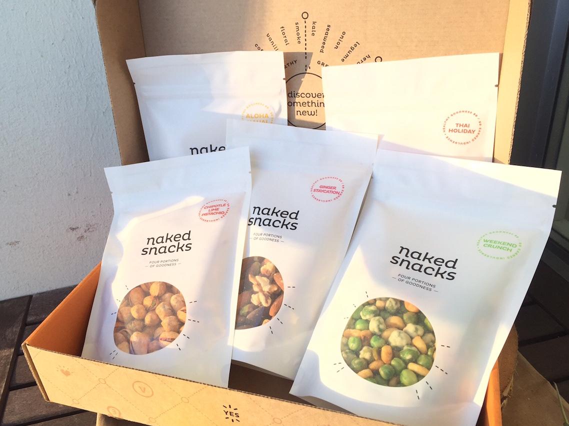 Naked Snacks Vancouver Delivery Service