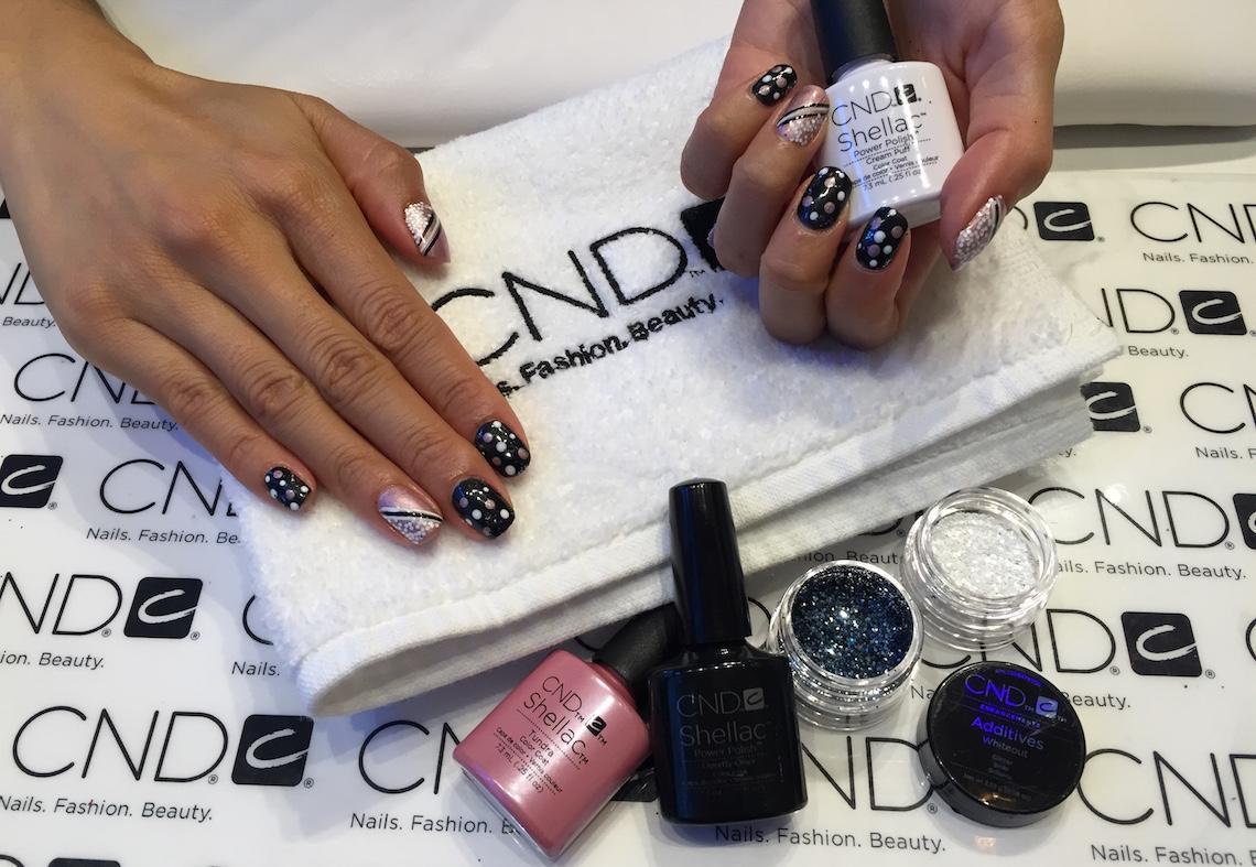 onyx nail salon gastown CND shellac manicure